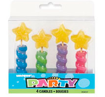 34057 Star Top Candles
