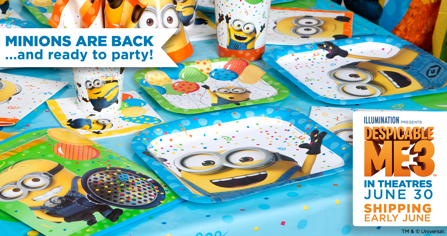 Minions are Back and ready to party!