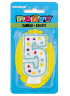 34005 Party Numeral 5 Candle