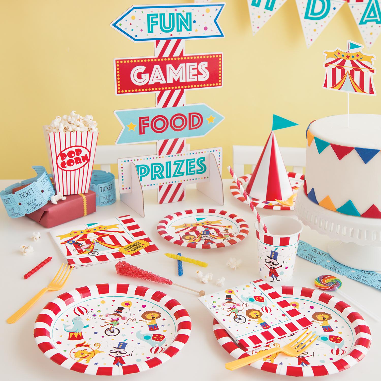 Circus Party Supplies