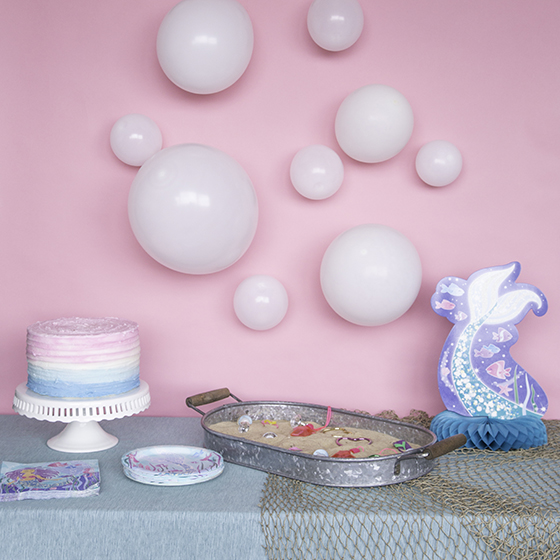 Mermaid Party Ideas - Bubble Balloons