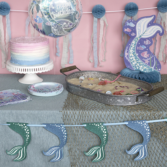 Mermaid Party Ideas - Mermaid Party Party