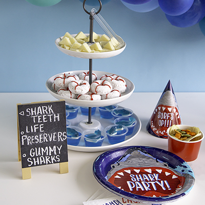 Shark Party Supplies - Shark Party Ideas