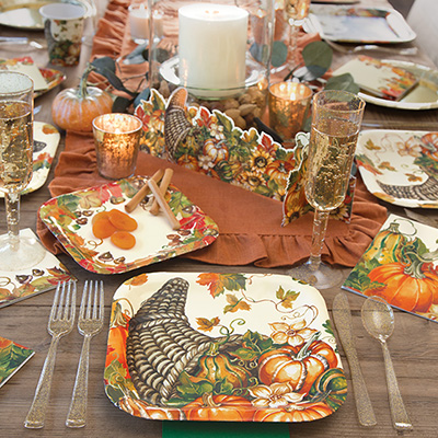 Thanksgiving Party Supplies - Friendsgiving Ideas