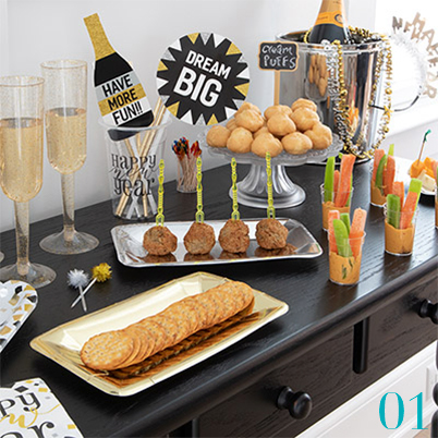 New Year's Party Supplies - New Year's Eve Party Ideas