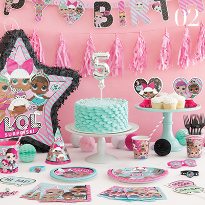 What's Trending - LOL Surprise party supplies