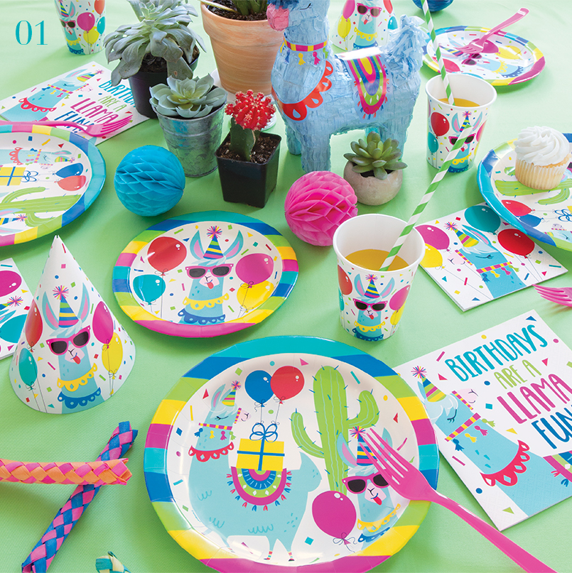 What's Trending - Llama Party Supplies