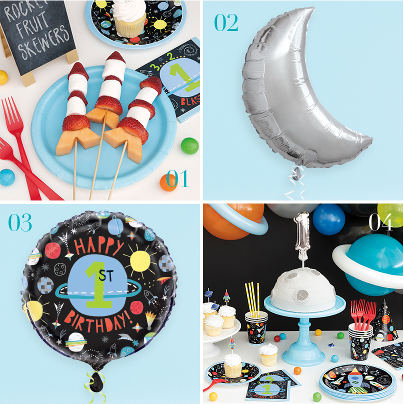 Outer Space Party Supplies - Outer Space Birthday Party Ideas
