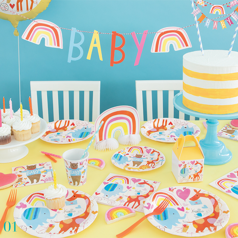 Zoo Baby Shower Supplies