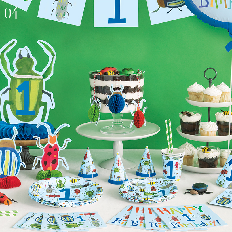 Bug 1st Birthday Party Supplies