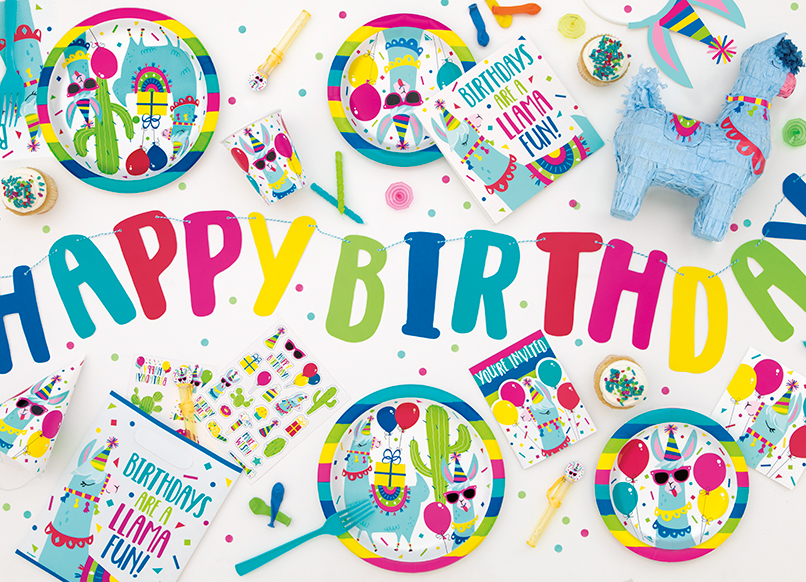 Llama Birthday Party Supplies - Llama Party Ideas