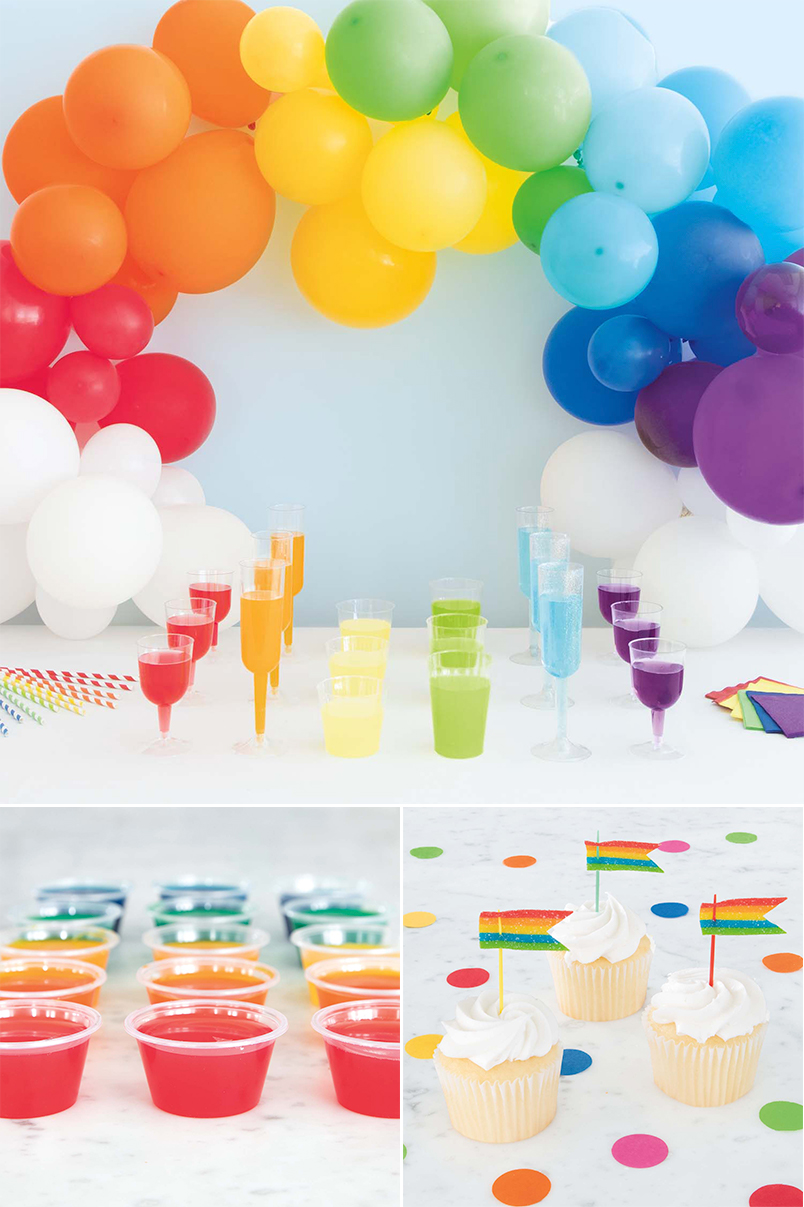 Rainbow Pride Party Supplies - Pride Party Ideas