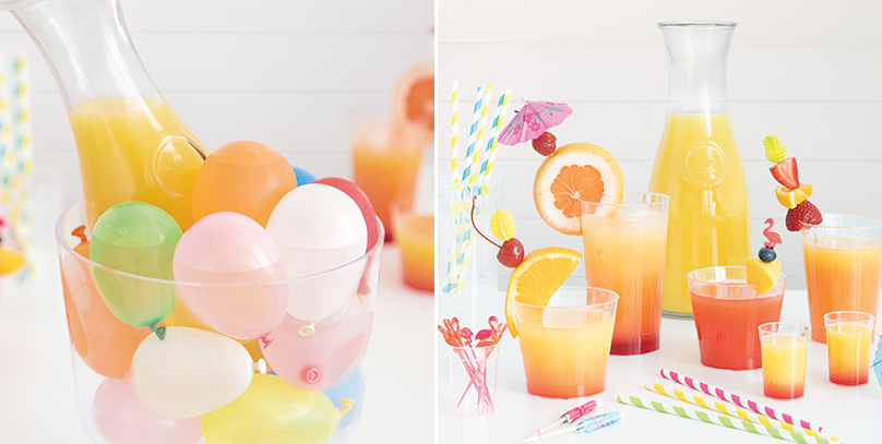 Summer Party Beverage Bar - Summer Party Ideas