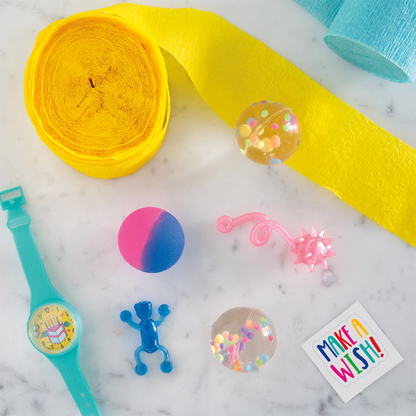 DIY Surprise Ball Party Favor Instructions