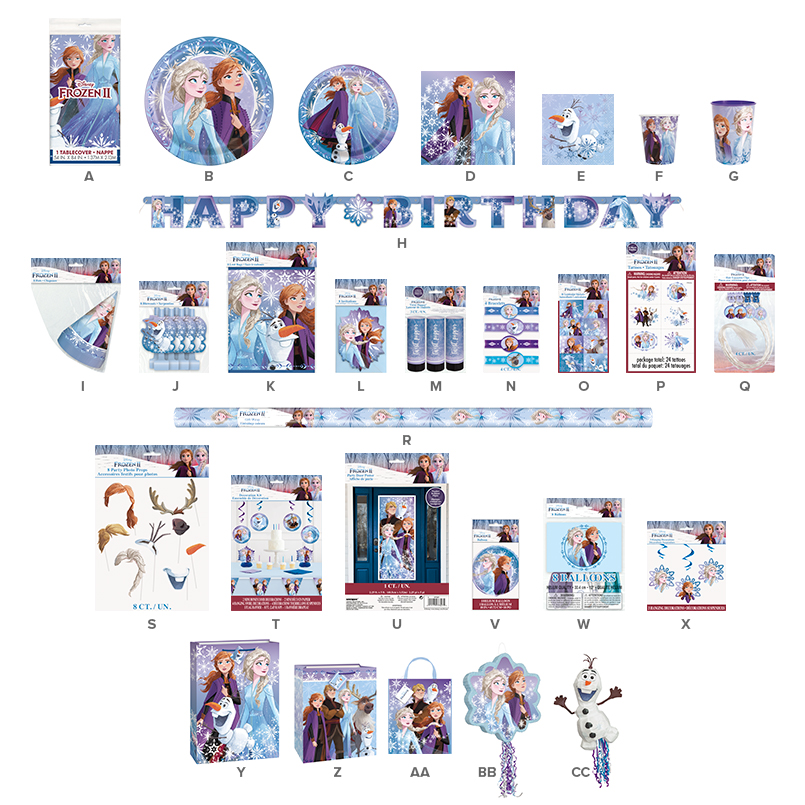 Frozen Birthday Party Supplies | Frozen Themed Party Ideas